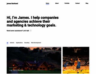 jamesnorthard.com screenshot