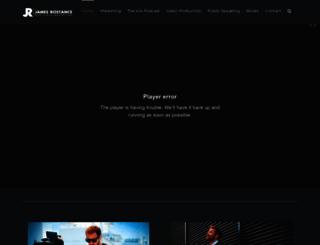 jamesrostance.co.uk screenshot
