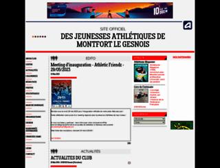 jamg.athle.com screenshot