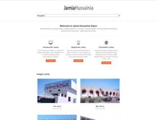jamiahussainia.org screenshot
