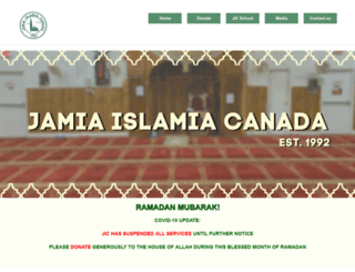 jamiaislamia.org screenshot