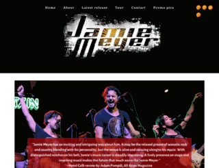 jamiemeyer.net screenshot