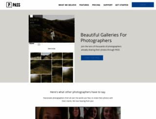 jamieraephoto.pass.us screenshot