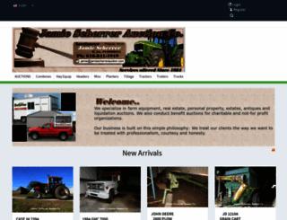 jamiescherrerauction.com screenshot
