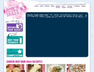 jamieshomecookingskills.com screenshot