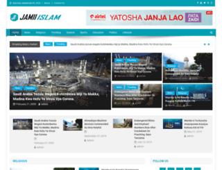 jamiiislam.co.tz screenshot