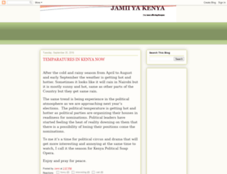 jamiiyakenya.blogspot.com screenshot