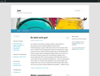 jamminko.edublogs.org screenshot
