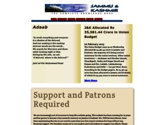jammu-kashmir.com screenshot