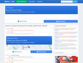 jammu-kashmir.result91.com screenshot