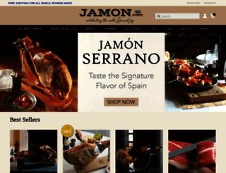 jamon.com screenshot