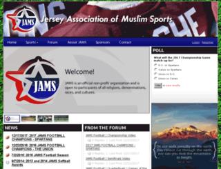 jamsleague.com screenshot