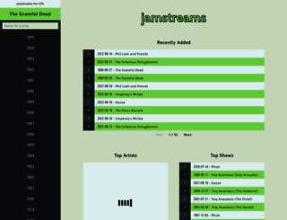jamstreams.net screenshot