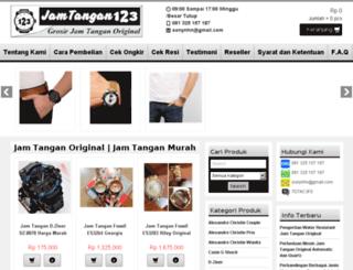 jamtangan123.com screenshot