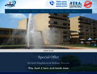 jamunaapartments.com screenshot