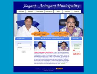 jamunicipality.org screenshot