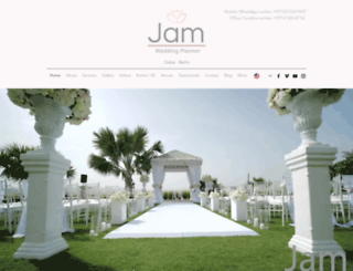 jamweddingplanner.com screenshot