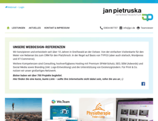 jan-pietruska.de screenshot