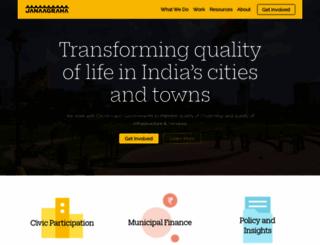 janaagraha.org screenshot