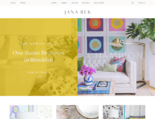 janabek.com screenshot