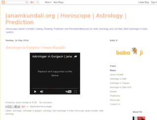 janamkundaliastrologer.com screenshot