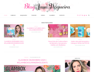 jananogueira.com screenshot