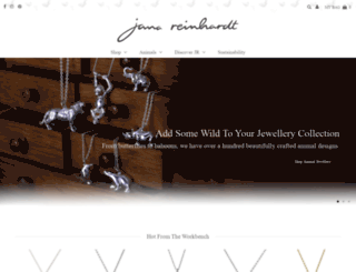 janareinhardt.com screenshot
