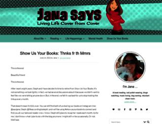 janasays.com screenshot