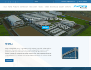 janatics.com screenshot