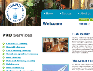jand-services.co.uk screenshot
