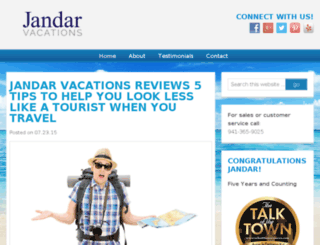 jandarvacations.com screenshot
