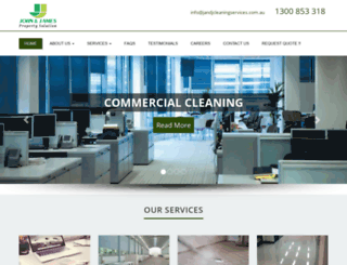 jandjcleaningservices.com.au screenshot