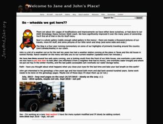 janeandjohn.org screenshot