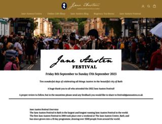 janeaustenfestivalbath.co.uk screenshot