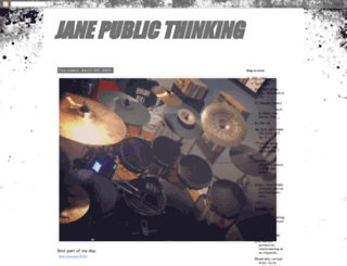 janepublic.blogspot.com screenshot
