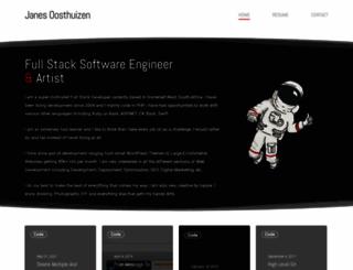 janes.co.za screenshot