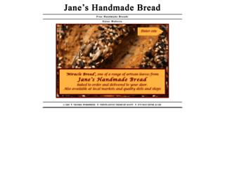 janeshandmadebread.co.uk screenshot