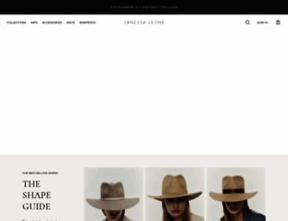 janessaleone.com screenshot