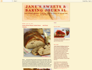 janessweets.blogspot.com screenshot
