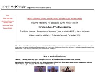 janetmckenzie.com screenshot