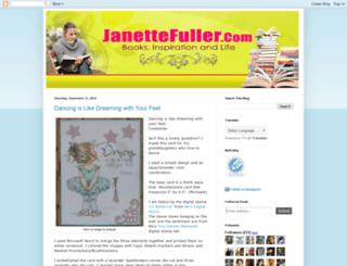 janettefuller.blogspot.com screenshot