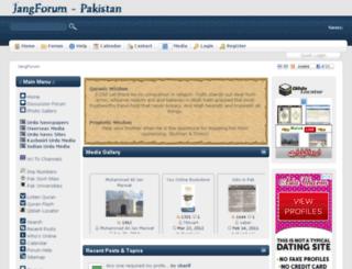 jangforum.com screenshot