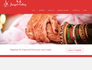 jangidrishtey.com screenshot