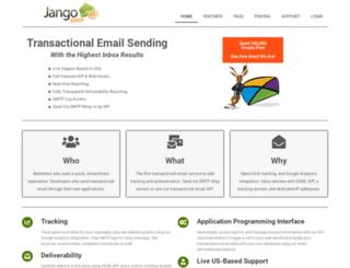 jangosmtp.com screenshot