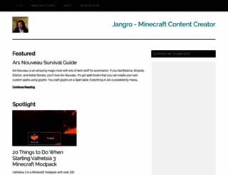 jangro.com screenshot