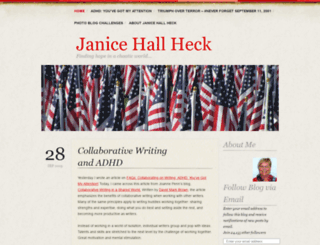 janiceheck.wordpress.com screenshot