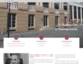 janiot-avocats.fr screenshot