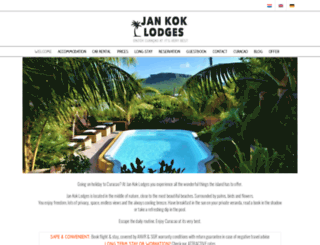 jankok-lodges.com screenshot
