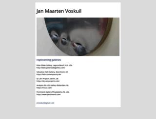 janmaartenvoskuil.nl screenshot