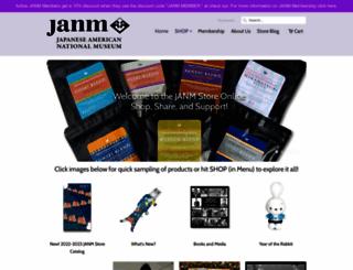 janmstore.org screenshot